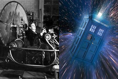 Great Scott this would be handy! Hurry up and make us a Tardis, a DeLorean, a portal… anything!<br/><br/>(Images: Left - <i>The Time Machine</i> / Chapel Distribution. Right - <i>Doctor Who</i> / ABC / BBC)