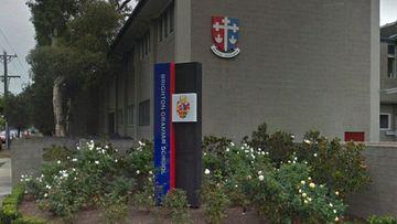 Brighton Grammar School, a private all-boys' high school in Melbourne.