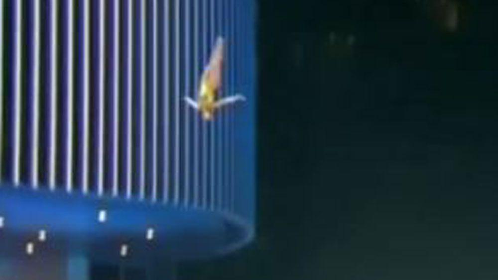 Australian wins cliff diving world series in Dubai
