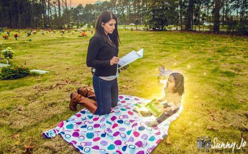Mum 'killed daughter before asking photographer to create images of her as an angel'