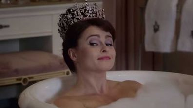 Helena Benham Carter in The Crown.