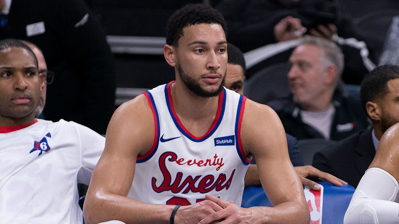 Fans lose it following Ben Simmons and the Philadelphia 76ers' loss to  Dallas