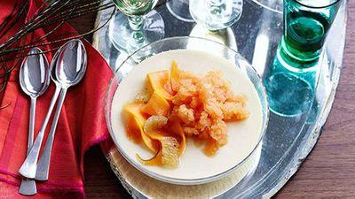 "Recipe:<a href=""https://kitchen.nine.com.au/2016/05/19/10/29/coconut-panna-cotta-with-papaya-lime-and-vanilla"" target=""_top"">Coconut panna cotta with papaya, lime and vanilla</a>"