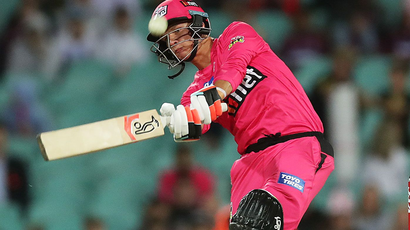 Josh Philippe starred for the Sydney Sixers.