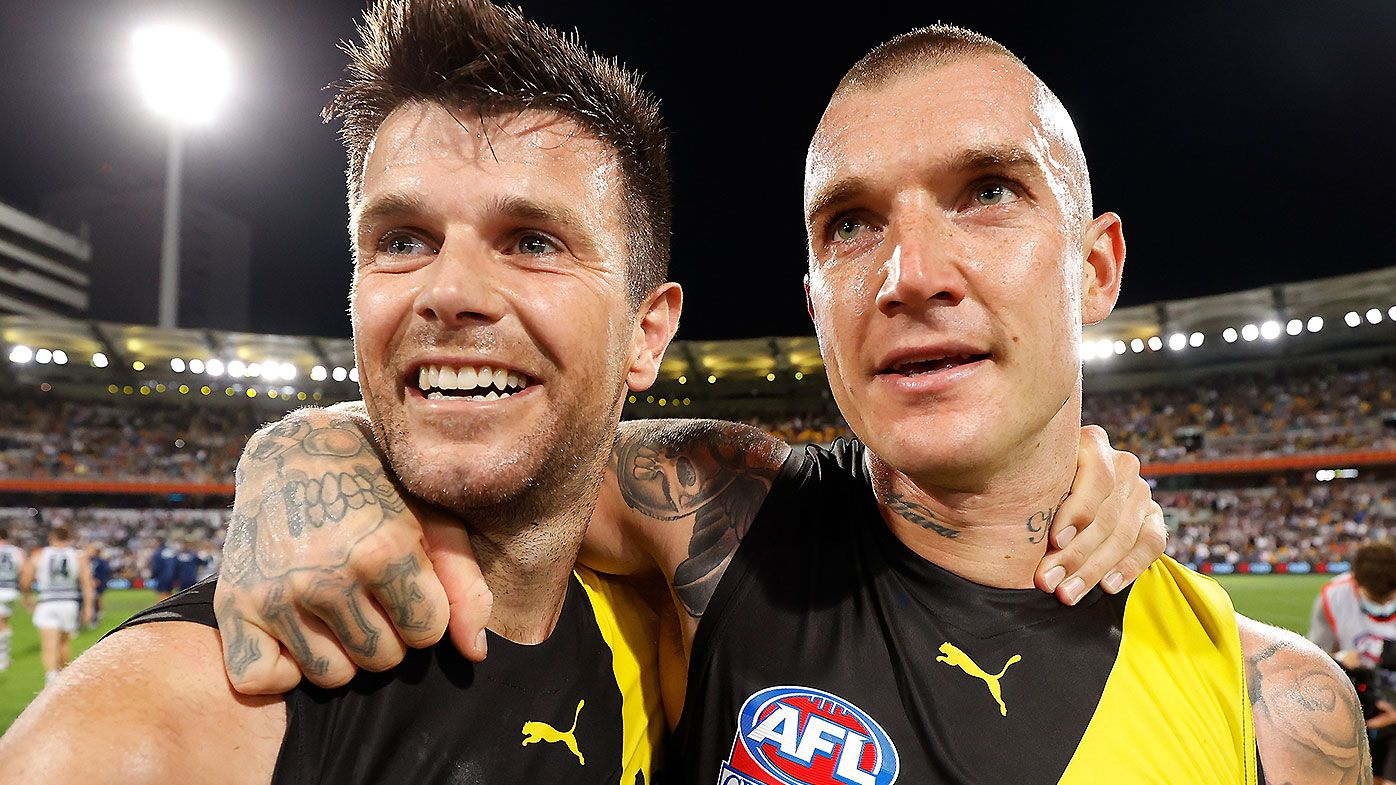 'He leads from his actions': Shane Crawford backs Dustin Martin to take over as Richmond captain