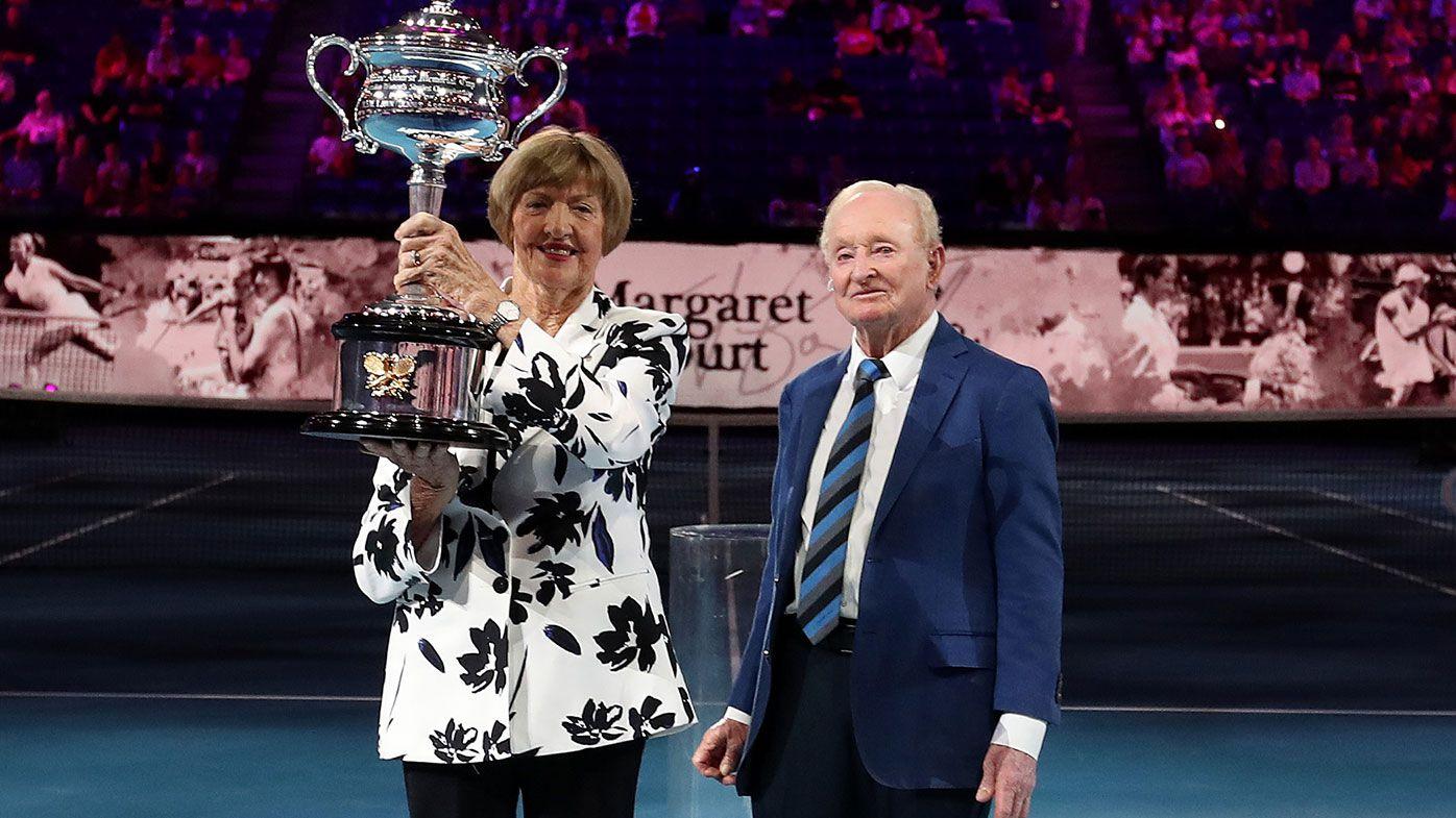 Margaret Court honoured for 50th anniversary