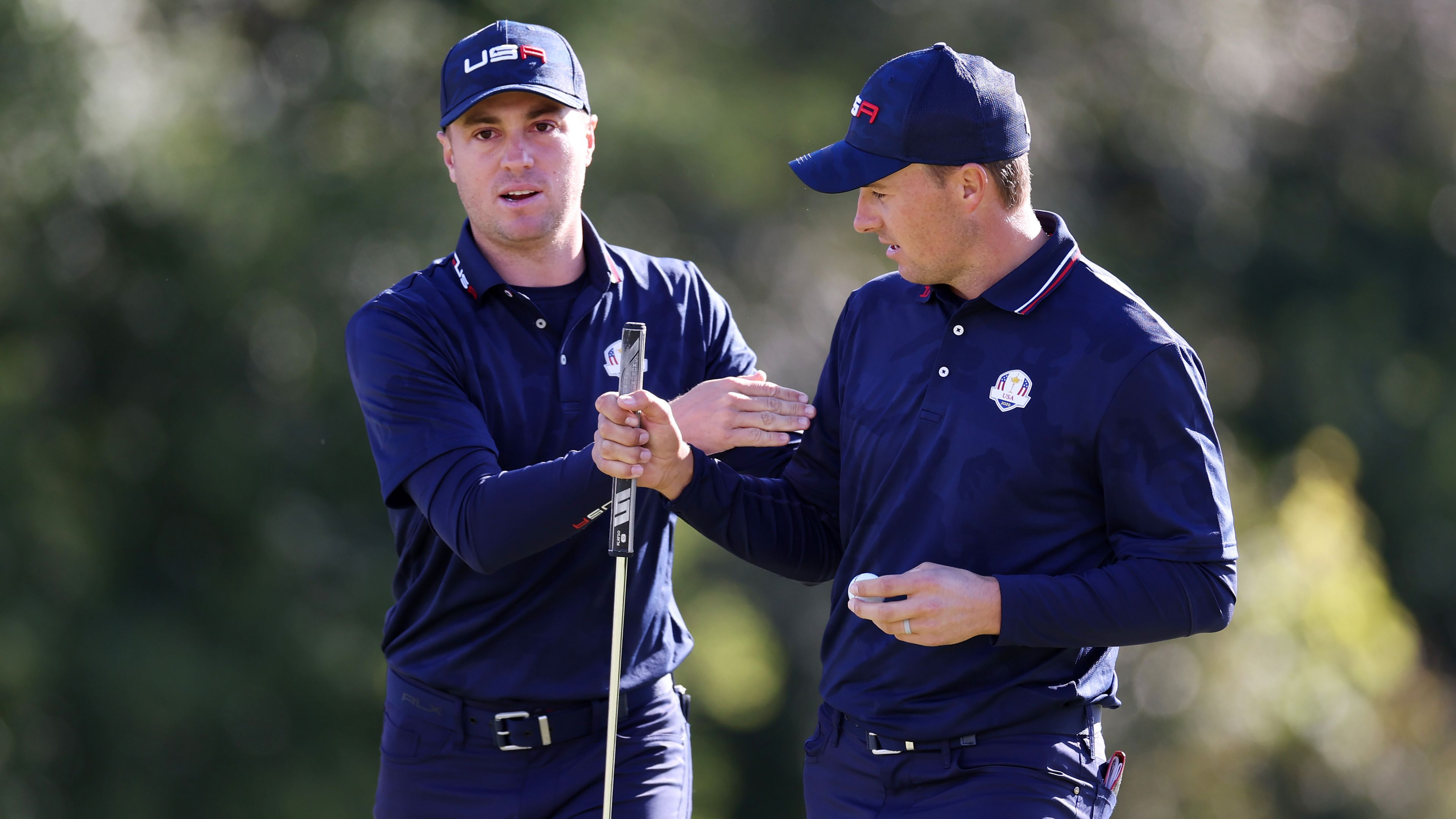 Justin Thomas chugs beer as USA takes record lead over Europe in Ryder Cup