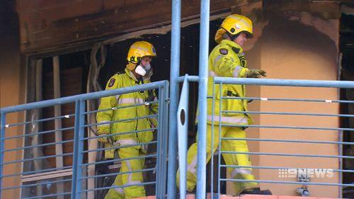 Investigators have said the blaze is not suspicious.