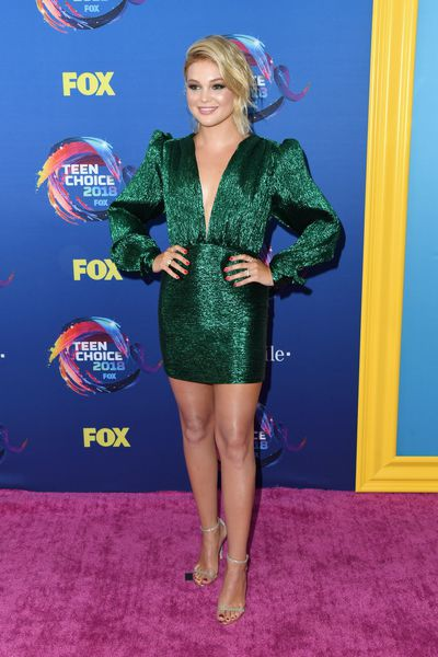 Actress and singer Olivia Holt at FOX's Teen Choice Awards in California, August, 2018