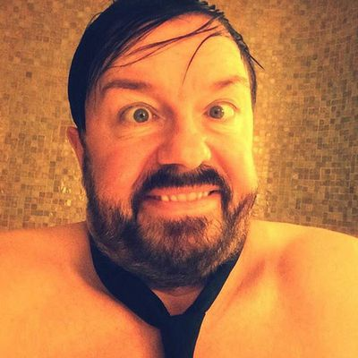 You sexy beast, Ricky Gervais.