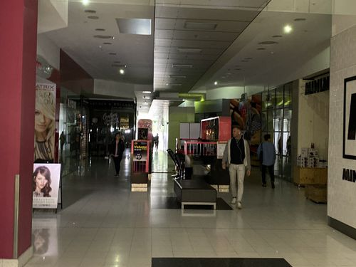 Shops around Adelaide CBD lost power this afternoon, hitting them financially too.