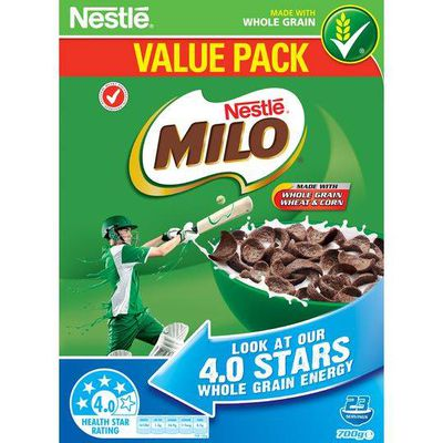 Milo Cereal - 26.9g sugars per 100g