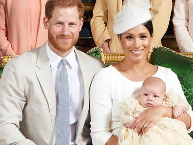 Archie Christening Prince Harry Meghan Markle Archie Harrison Mountbatten-Windsor 1