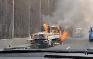Truck fire causing major delays on Sydney's Eastern Distributor