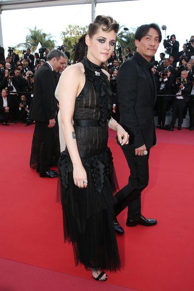 Kristen Stewart in Chanel at the 2018 Cannes Film Festival