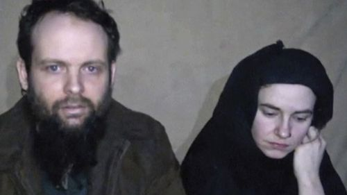 American woman Caitlin Coleman claims her husband Joshua Boyle, from Canada, physically and emotionally abused her during the pair's five years as hostages of the Taliban-linked Haqqani network