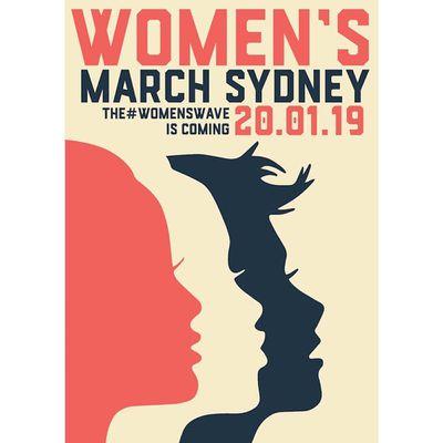 Women's March Sydney 2019