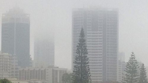 Fears of flash flooding as south-east Queensland drenched