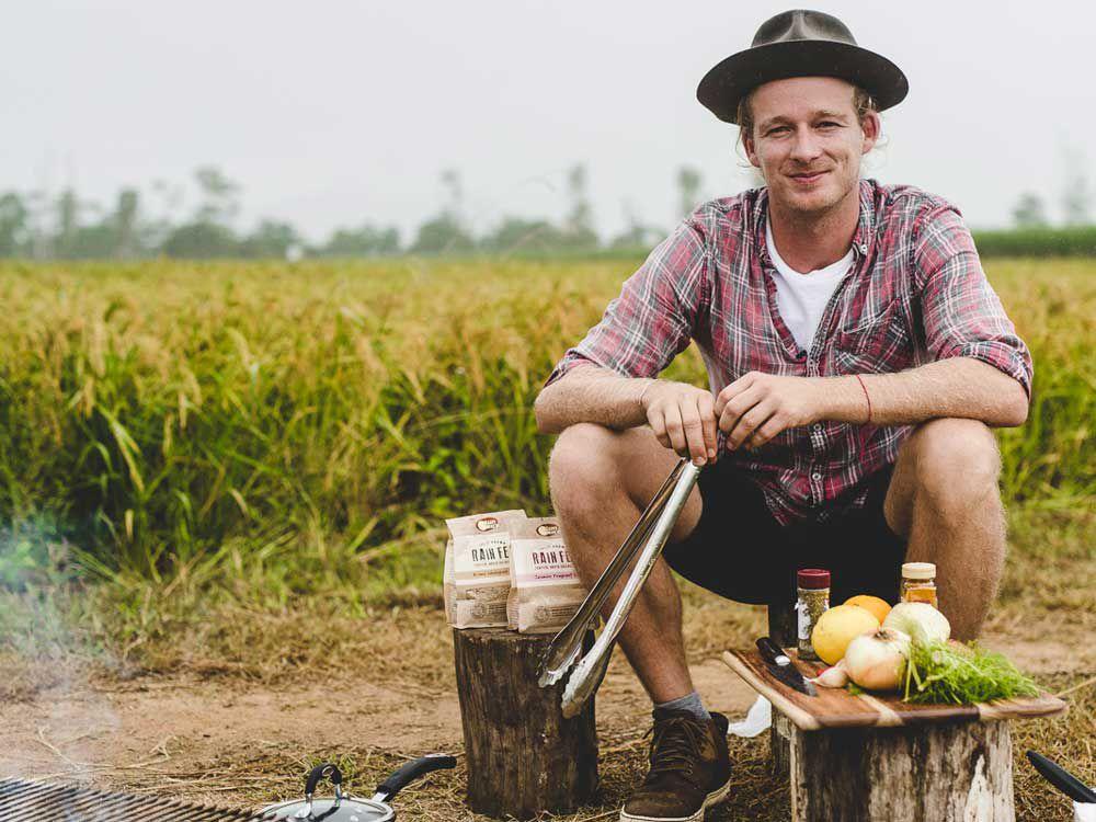 Chef Guy Turland for Bondi Harvest