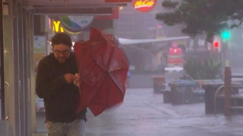 Sydney rain wet weather storms