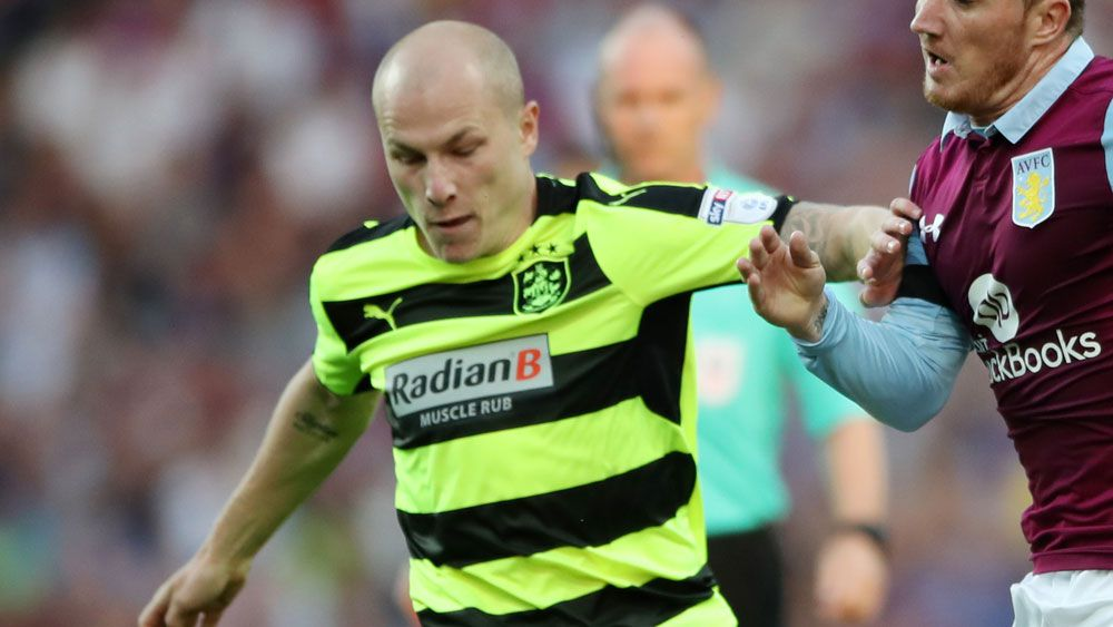Aaron Mooy was again at the heart of another victory for Huddersfield. (AAP)