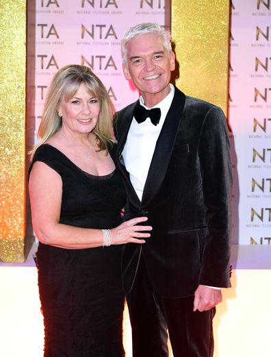 Stephanie Lowe and Phillip Schofield