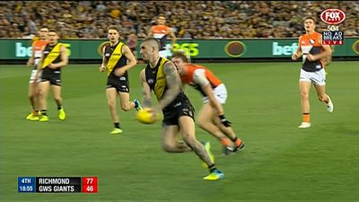AFL news: Richmond Tigers Martin to romp home in AFL Brownlow count