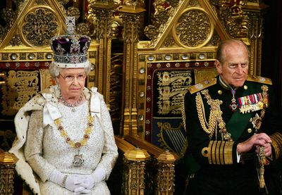 Prince Philip always by the Queen's side