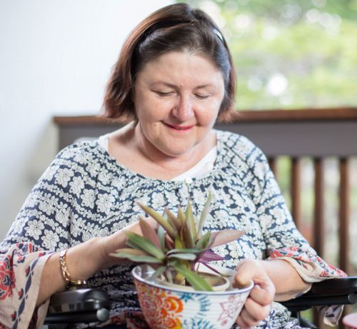 "Julia describes her four years in aged care as ""long and tedious."""