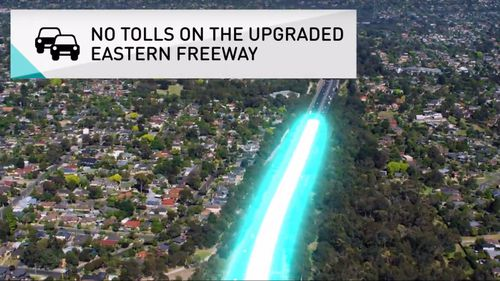 The freeway was originally costed at $10 billion in August.