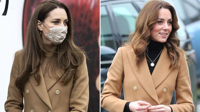 Kate Middleton re-wears camel coat