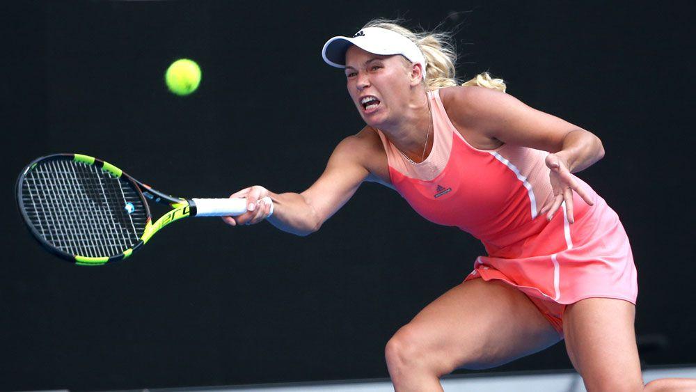 Wozniacki crashes out of Australian Open