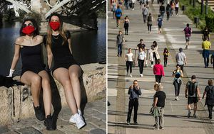 Fewer people hospitalised with coronavirus in Italy; Spaniards flock to exercise after seven-week lockdown