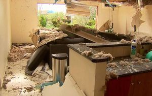 Geelong residents face major storm clean up after 150km/h winds damage 100 homes