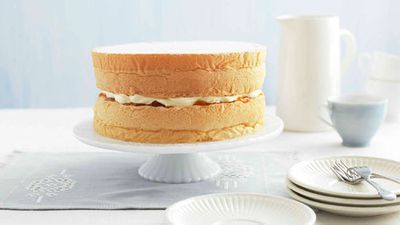 <strong>Featherlight sponge cake</strong>