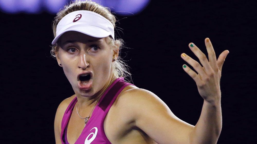 Gavrilova tumbles out after meltdown
