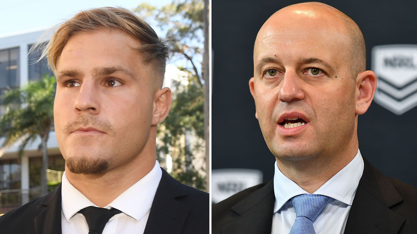 NRL on a collision course with Players' Association following de Belin saga