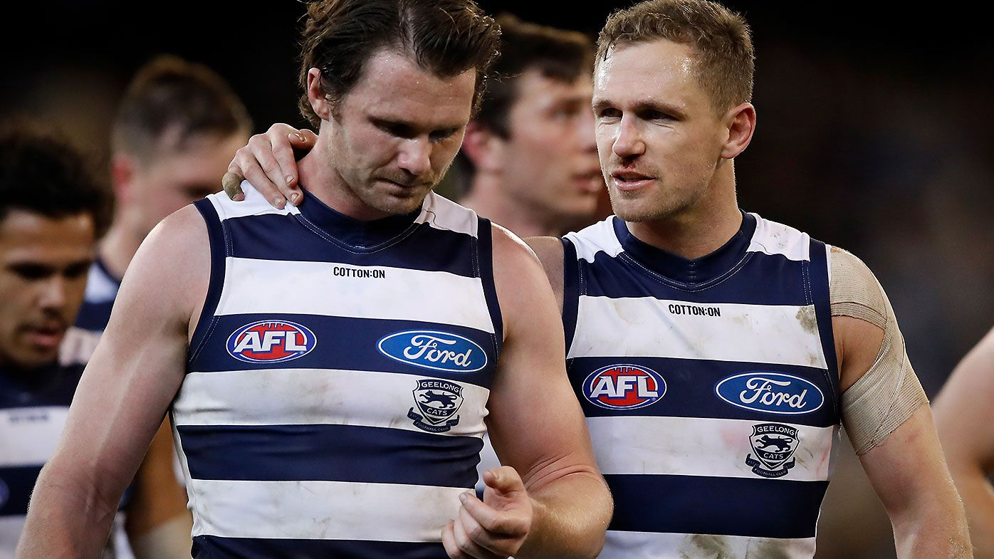 Kane Cornes fearful that ageing playing list will 'blow up' in Geelong's face in 2021