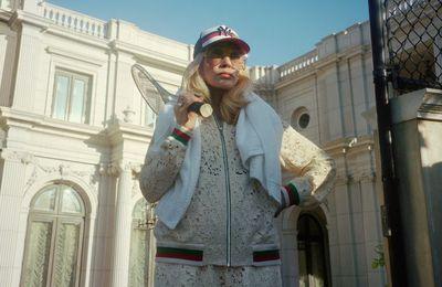 Faye Dunaway for Gucci