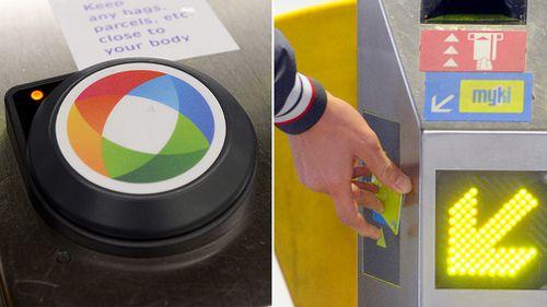 Sydney's Opal card system; Melbourne's Myki system. (AAP)