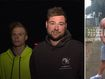 Manhunt for gunman who fired at innocent tradies