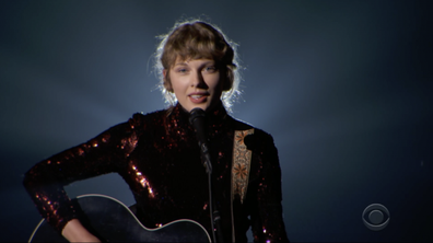 Taylor Swift performs Betty at the ACM Awards