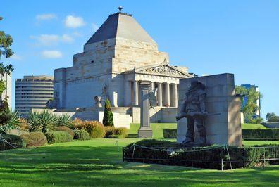 Shrine of Remembrance, Melbourne, Victoria