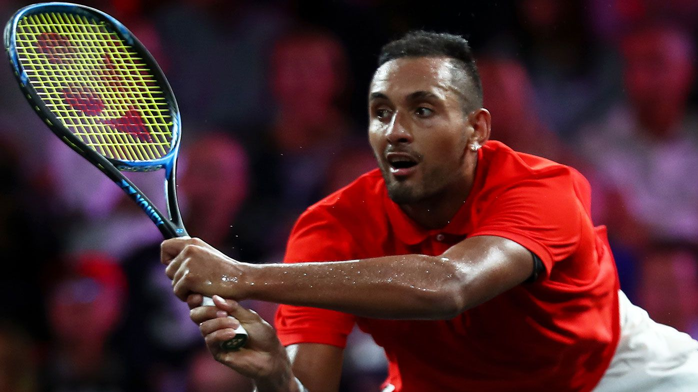 Nick Kyrgios back in Australian Davis Cup team for revamped finals in Spain