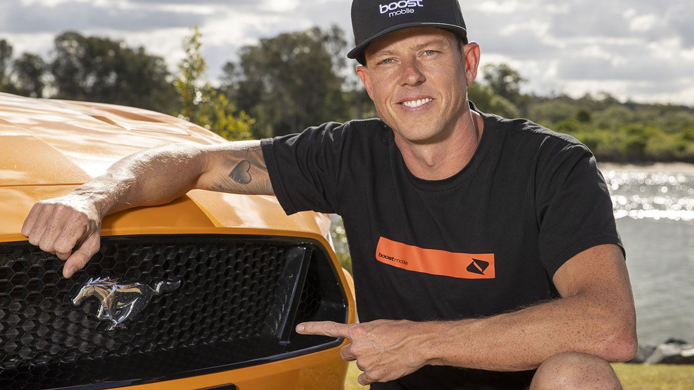 James Courtney is back on the Supercars grid.