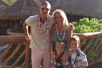 Britney Spears took her family on vacation to Hawaii.
