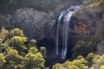 The scenic lower Ebor Falls located in Guy Fawkes River National Park in the New England region of NSW.
