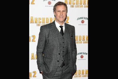 <i>Anchorman</i> star Will Ferrell.