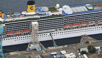 The Costa Atlantica docked since late January is struck by an onboard coronavirus outbreak in which dozens of crew members found to have infected.
