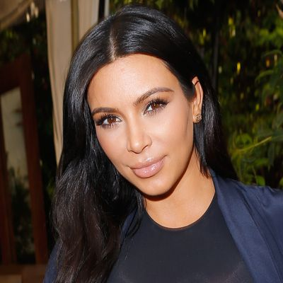 ...Kim Kardashian then
